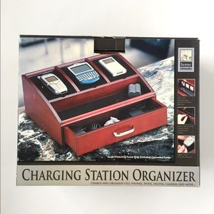 home elements Storage & Organization - Home Elements Wood Charging Station Organizer